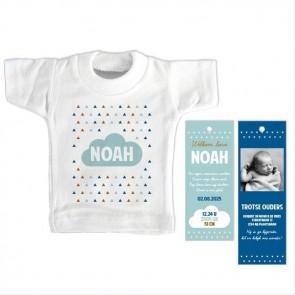 Simply Baby Mini T-Shirt Geboortekaartje