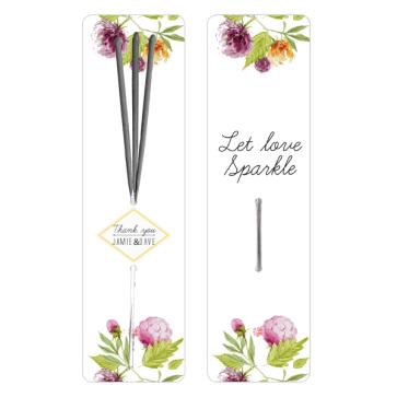 Floral Sparklers design