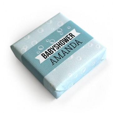 Bubbles baby shower soap