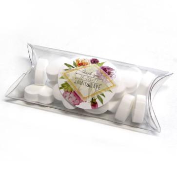 Floral Mini Pillow Box wedding favours
