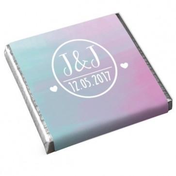 Mini Chocolates: Colourful Splash design