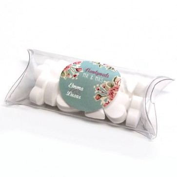 Vintage Rose Mini Pillow Box wedding favours