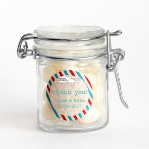 Airmail design Weck Jar