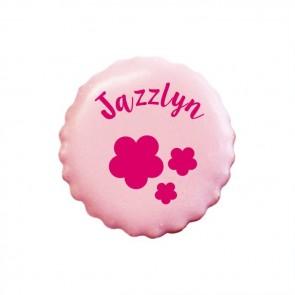 Flowers personalised Cookies