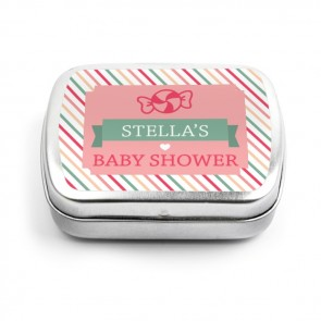 Sweet Candy baby shower Mint Tins