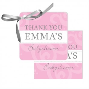 Classic Baby Favour Tags