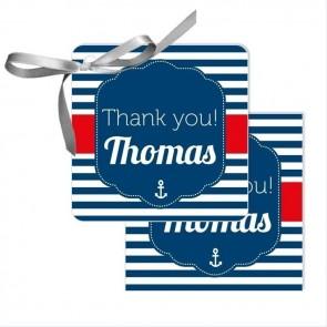 Sailor Favour Tags