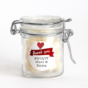 Weck Jar favour with sweets