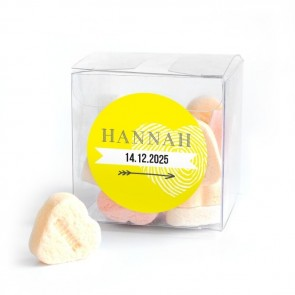 Baby shower Candy Cube Sunshine