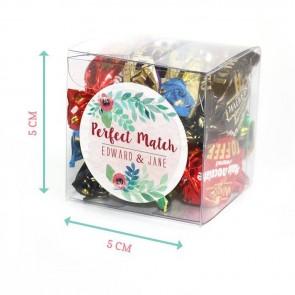 Vintage Rose Candy Cubes