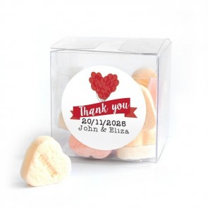 Balloon Candy Cube wedding favour