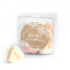 Candy Cube wedding favour