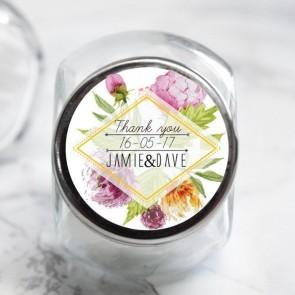 Floral Candy Jar