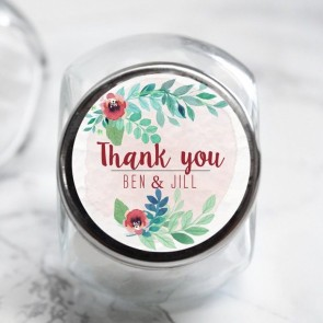 Rustic Garden Candy Jar
