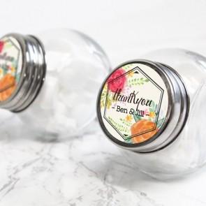 Peonies Fanfare Candy Jar
