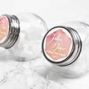 Watercolour Love Candy Jar