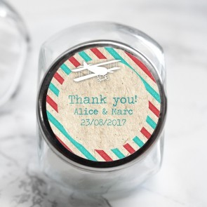 Airmail Candy Jar