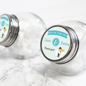 Wedding Couple Candy Jar