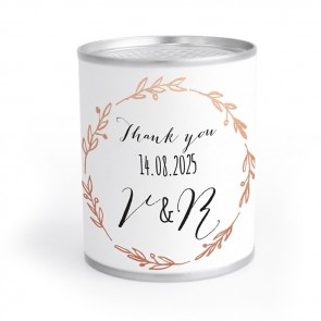 Create Your Own Chocolate Container wedding favours