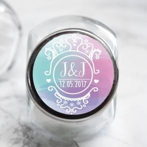 Colourful Splash Candy Jar