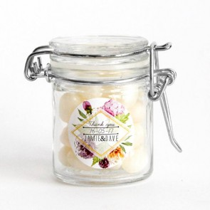Weck Jar wedding favours with sweets