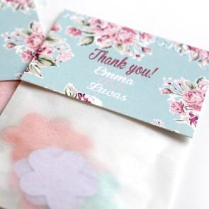Vintage Rose Flower Bags