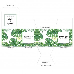 Botanical Fortune Cookie Box