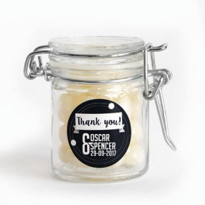 Galaxy Wedding Weck Jar wedding favour
