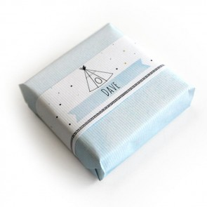Indian Tipi Baby Shower soap favour