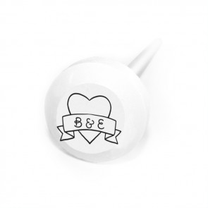 Heart Banner Personalised Lollipops