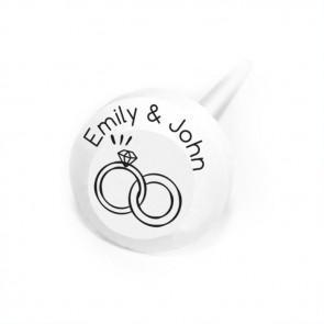 Rings Personalised Lollipops
