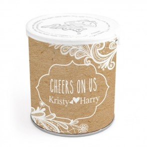 Pringles Chips wedding favours