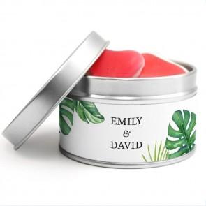 Create Your Own Round Tin wedding favour
