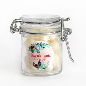 Rustic Garden Weck Jar wedding favour