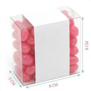 Vintage Lace Candy Square Favour Box