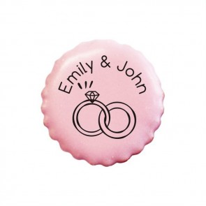 Rings personalised Cookies