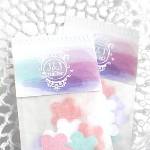 Colourful Splash Flower Bags