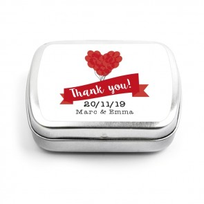 Balloon Wedding Mint Tin favours