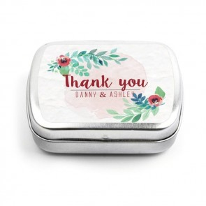 Rustic Garden Wedding Mint Tins