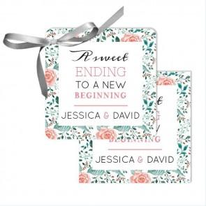 Rose Garden Wedding Tags