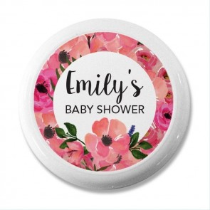 Space design Yoyo baby shower favour