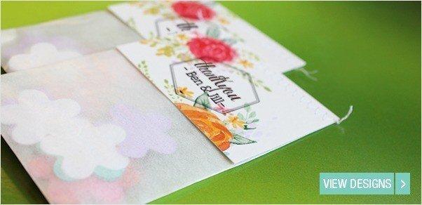 Flower seed Favours: plantable seedpaper Flowerbags