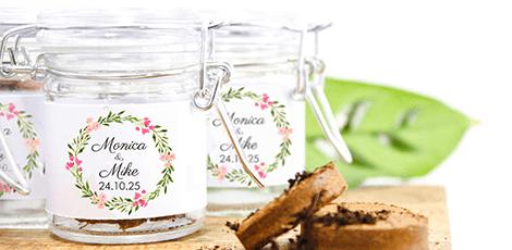 green-weck-jar-favour-vintage-rose-design