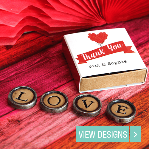 Wedding Favours: Typewriter Magnets