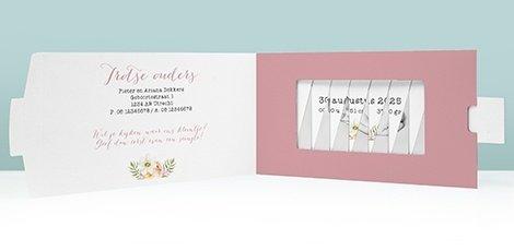 changecard-geboortekaartje