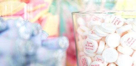 personalised wedding mints