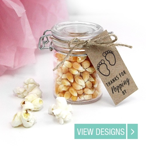 baby-shower-favour-popcorn-weckjar