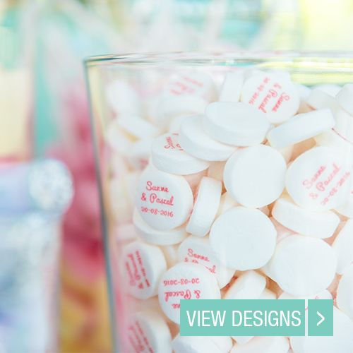 Personalised Wedding Mints Wedding Favours