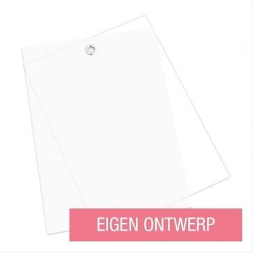 Kalkpapier geboortekaart ontwerp zelf