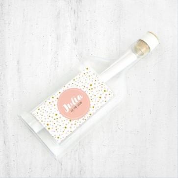 Pink Perfect Flessenpost Geboortekaartje